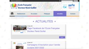 Ecole Française - Actualités