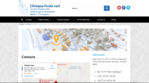 Clinique Foulo SARL - Contact
