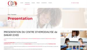 Le Centre d'Hémodialyse Dakar - Presentation